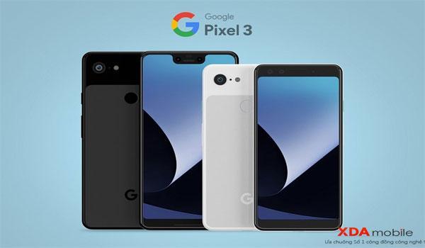 Google tiết lộ Pixel 3 sẽ có 3 màu sắc khác nhau