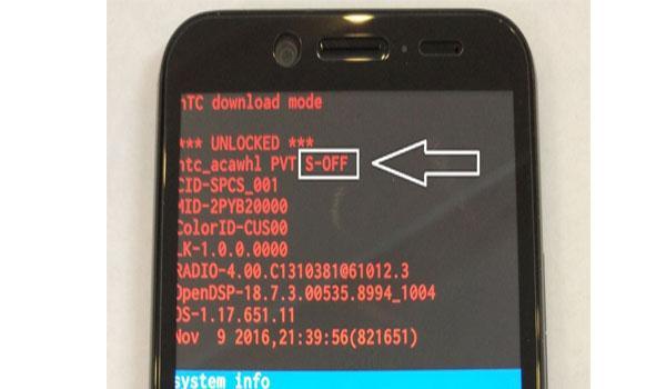 Hướng dẫn Up Rom HTC 10 EVO Sprint Android 7.0 Mở Mạng 4G LTE