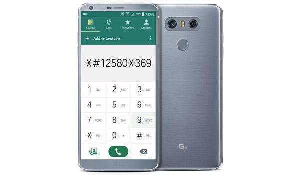 Lệnh test máy LG G6 Mỹ và Hàn Quốc trên Android mới