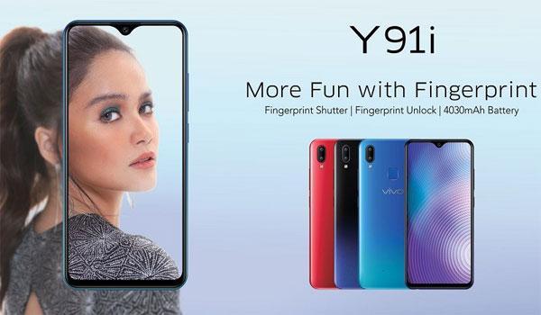 Vivo Y91i ra mắt: Chip Snapdragon 439, pin 4.030 mAh, màu Gradient