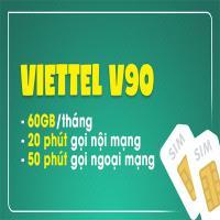 Sim Viettel V90 Gọi Miễn Phí Nội Mạng